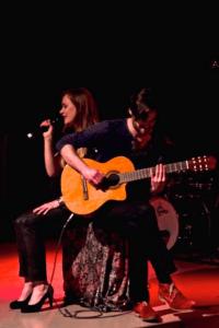 Emma Poppink zingt jazz