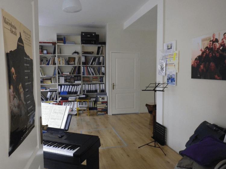 Zangstudio Cobien Nieuwpoort - Zangles aan Taco Mesdagstraat in de Schildersbuurt in Groningen