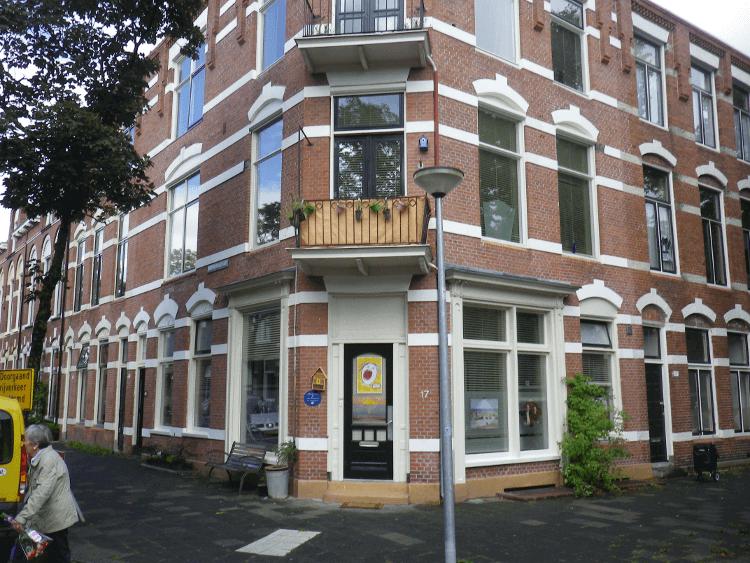 Zangstudio Cobien Nieuwpoort buitenkant - Zangles aan Taco Mesdagstraat in de Schildersbuurt in Groningen