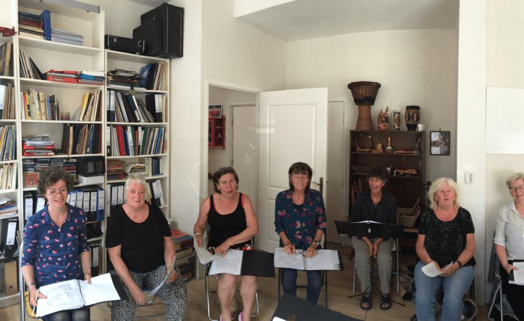 Vrouwenkoor Femmes Majeures uit Groningen