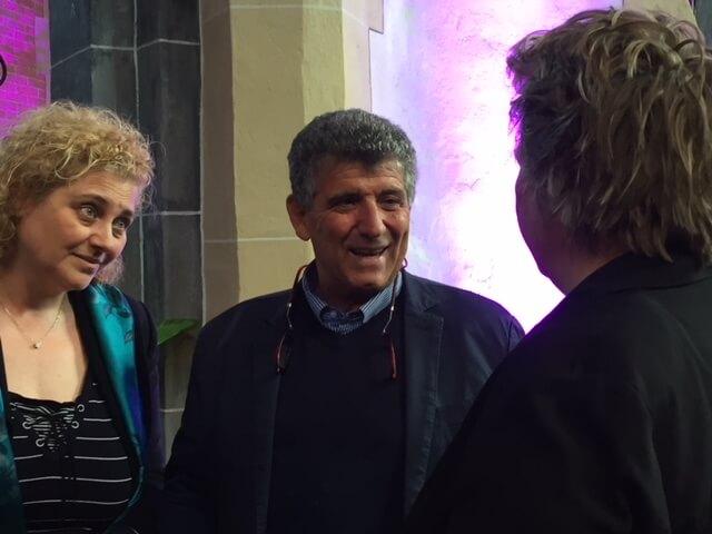 Cobien in gesprek met Pietro Bartolo, de arts van Lampedusa