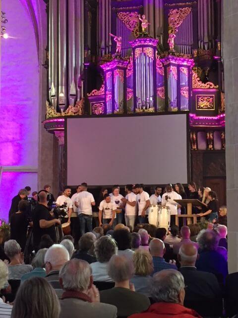 Optreden in het kader van 30 jaar Stichting Inlia