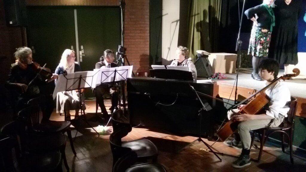 Orkestje bij Muziektheater Verloren